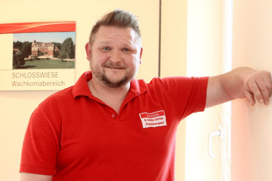 Privat ist Physiotherapeut Mark Schultz-Günther Familienvater mit Leib und Seele.