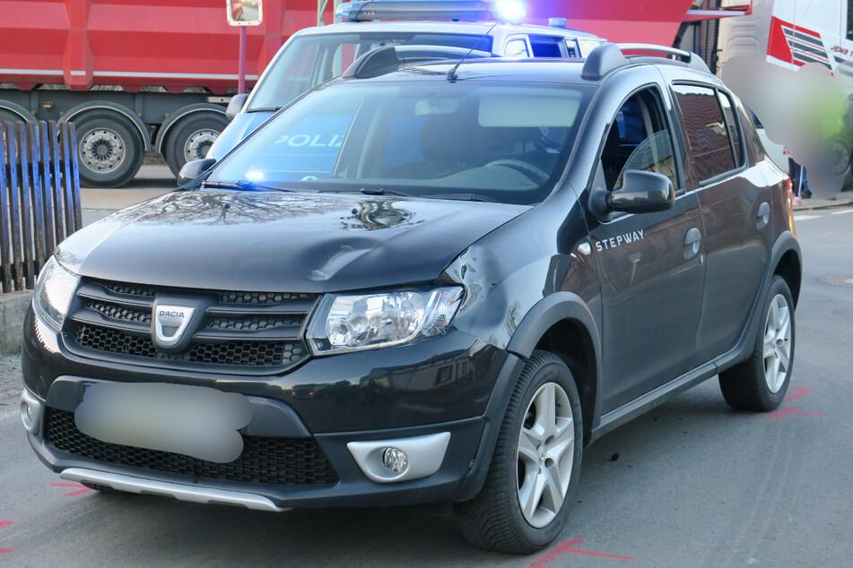 Erzgebirge: Achtjähriges Kind auf dem Fahrrad von Auto erfasst und verletzt