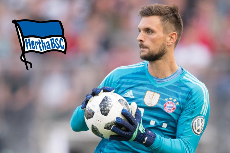 Neue Nummer eins: Holt sich Hertha Bayerns Sven Ulreich?