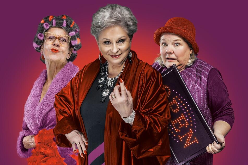 Die drei Puffmütter (v.l.): Gisela Kraft (81), Dagmar Frederic (76) und Christiane Ziehl (70).
