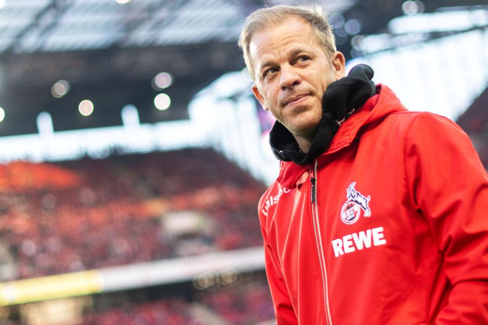 Das Foto vom April 2019 zeigt Trainer Markus Anfang, damals war er noch beim 1. FC Köln.