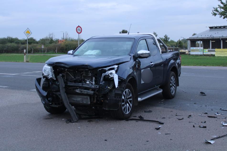 Autos krachen auf Kreuzung in Leipzig ineinander: Drei Personen verletzt