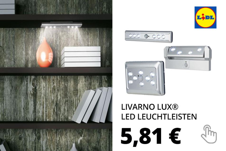 LIVARNO LUX® LED Leuchtleisten, mit Bewegungsmelder