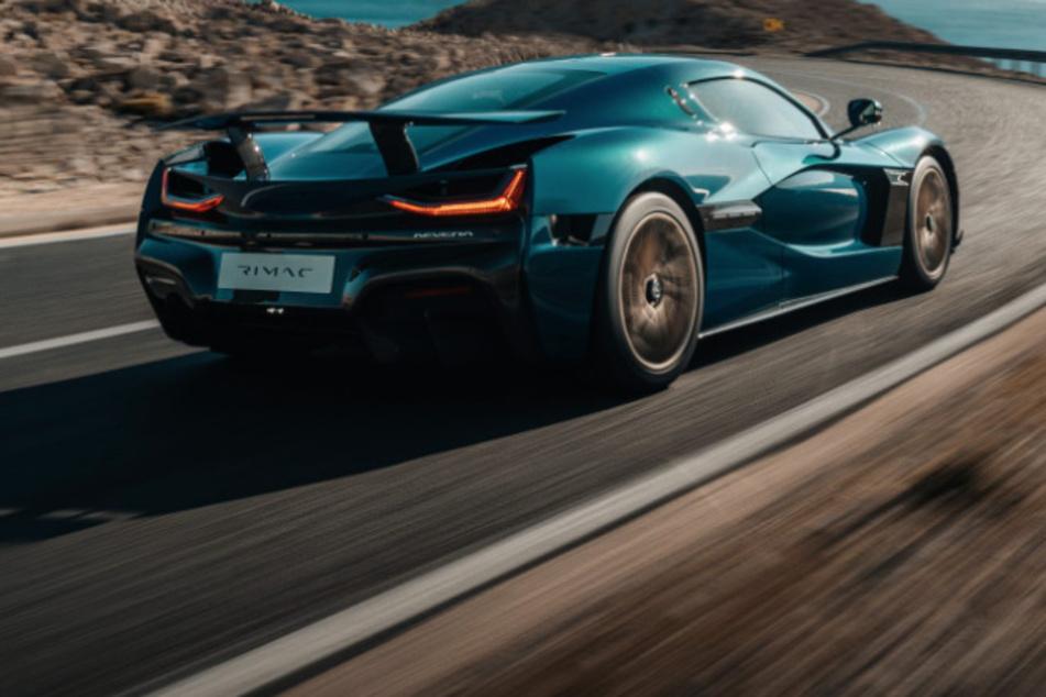 Viele Autofahrer werden das 2 Millionen Euro teure Auto wohl nur von hinten zu Gesicht bekommen.