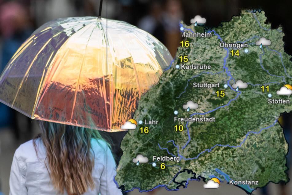 Nassgrauer Dienstag in Baden-Württemberg, doch Besserung ist in Sicht