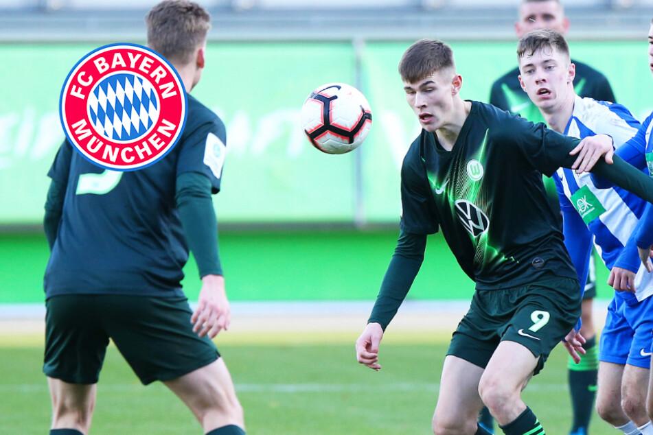 Transfercoup für den FC Bayern: Großes deutsches Sturmtalent kommt aus Wolfsburg!
