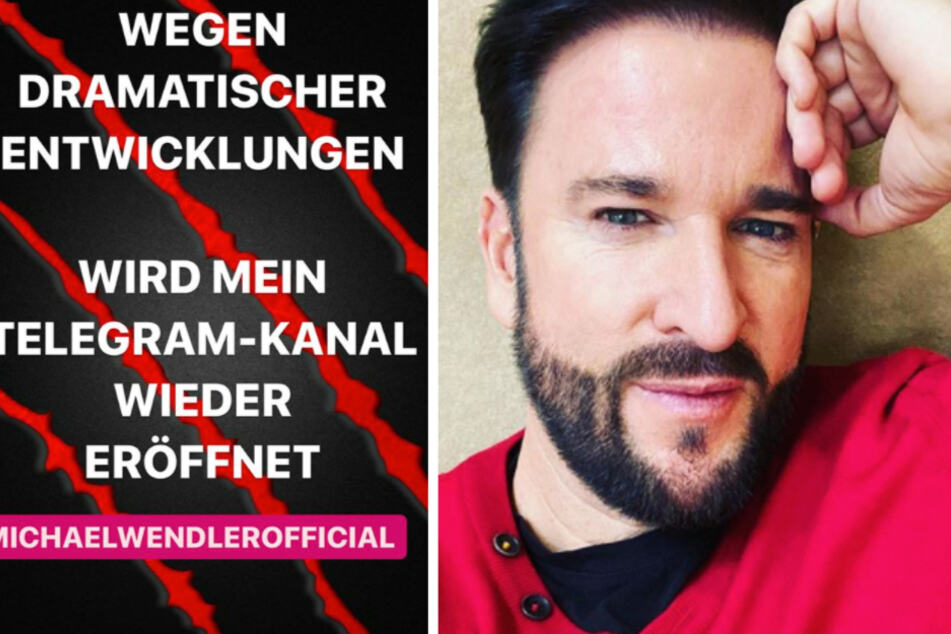 """Michael Wendler wieder zurück bei Telegram! """"Dramatische Entwicklungen"""""""