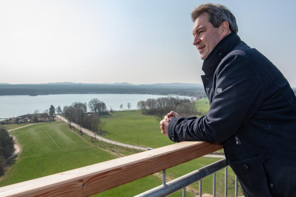"""Markus Söder hofft auf Sommerurlaub: """"Würde gern mal wieder am Meer sitzen"""""""