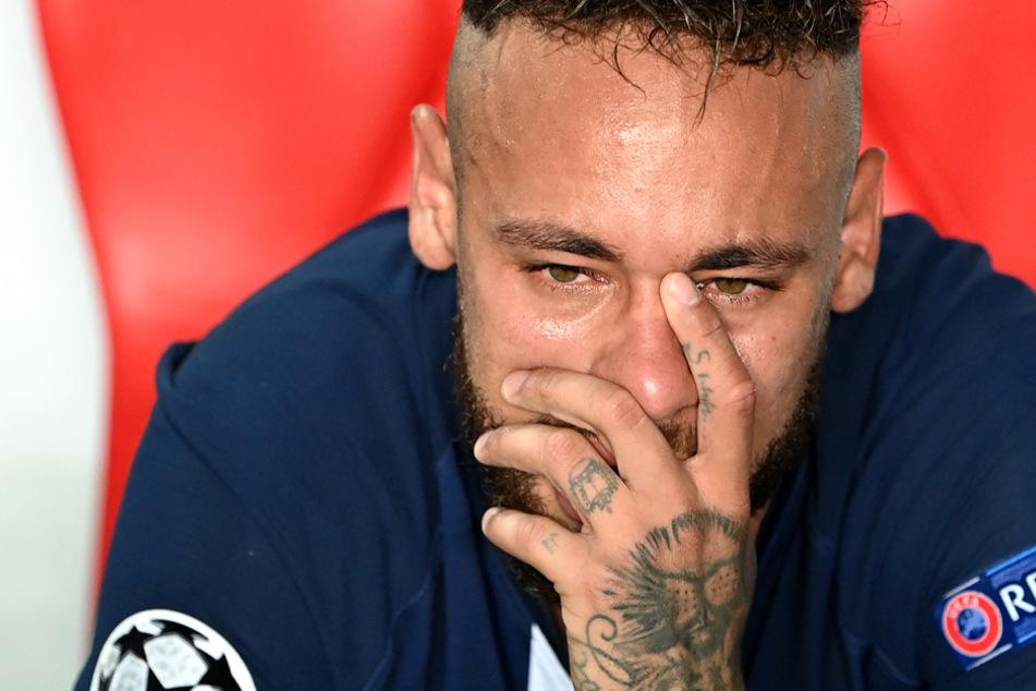 Uupsi: PSG-Star Neymar hat der falschen Mannschaft zum Finalsieg gratuliert.
