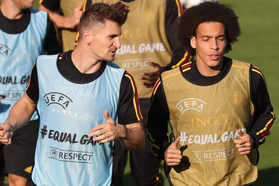 Bald auch außerhalb der belgischen Nationalmannschaft Teamkollegen? Thomas Meunier (28) und Axel Witsel (31).
