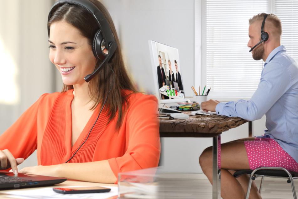 Video-Konferenz im Homeoffice: Wie fallen deine Kollegen auf?