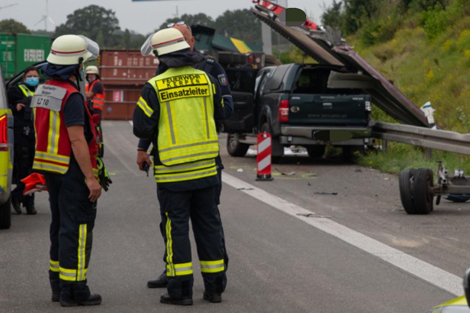 Der Unfall ereignete sich auf der A4 bei Merzenich. Es bildete sich ein Stau.