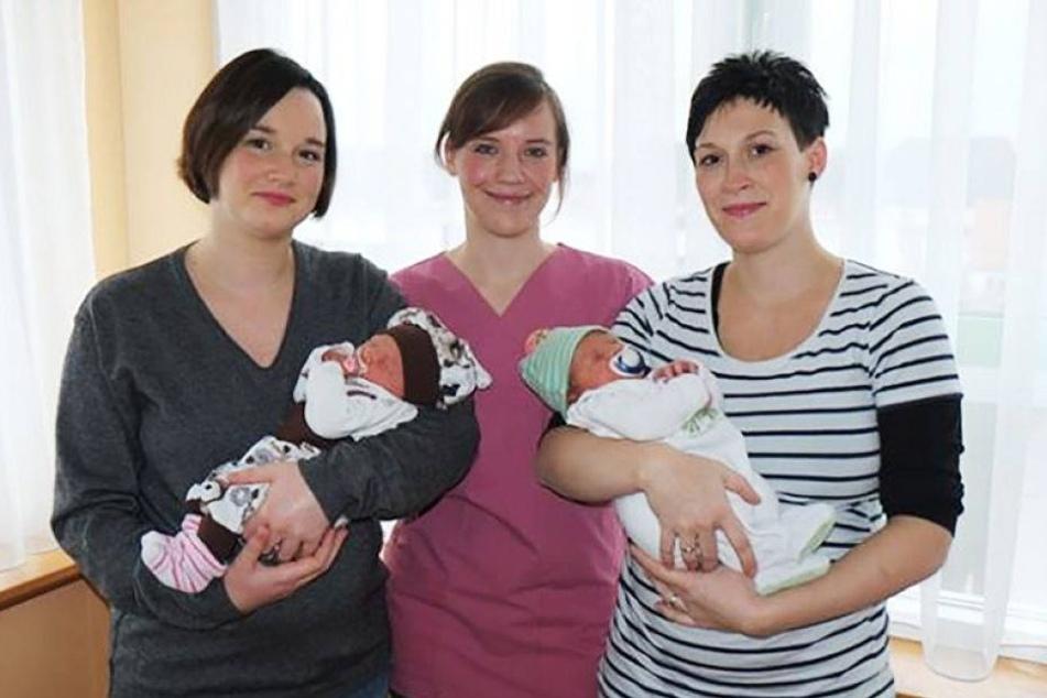 Schwestern kriegen fast zeitgleich Babys!