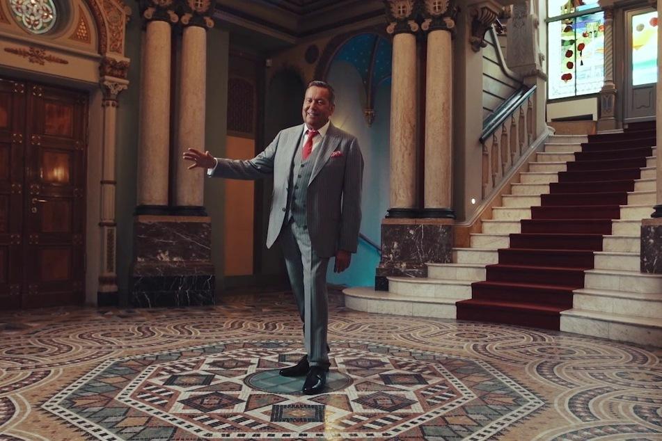 Roland Kaiser (67) drehte das Video bereits im Sommer in der Villa Weigang.