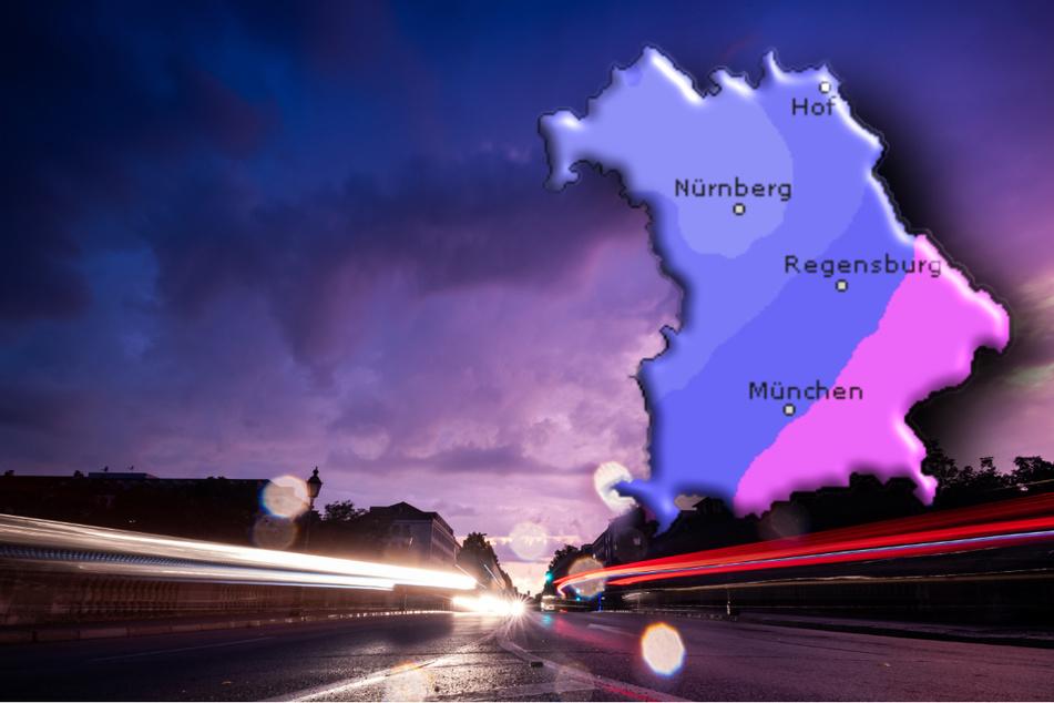 In Bayern bleibt das Wetter regnerisch. (Symbolbild)
