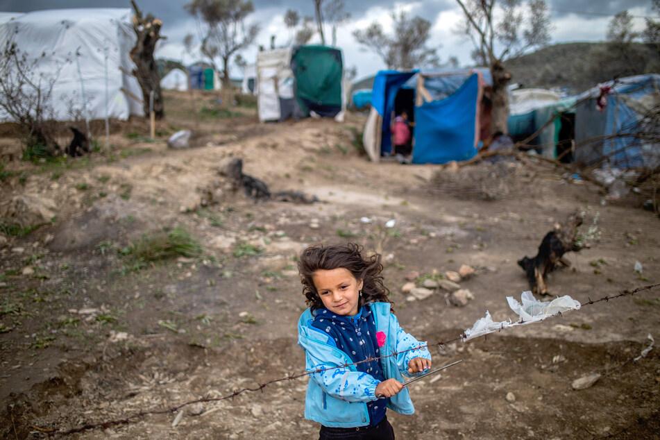 Insgesamt haben sich zehn EU-Staaten bereit erklärt, mindestens 1600 unbegleitete Minderjährige und andere Migranten aus den völlig überfüllten Flüchtlingslagern auf den griechischen Ägäis-Inseln zu holen. (Archivbild)