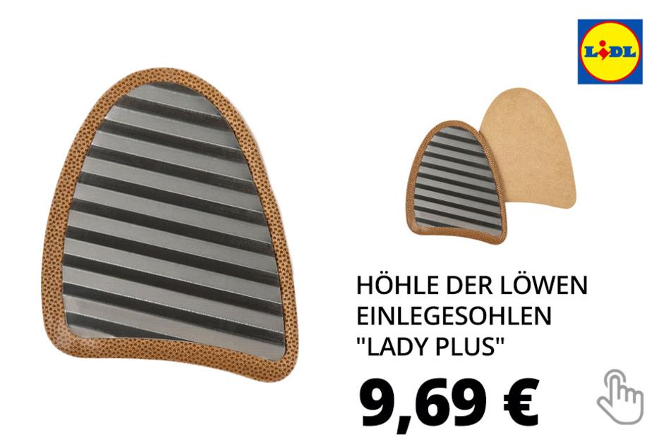 "Höhle der Löwen Einlegesohlen ""Lady Plus"" »FLEXMED«"