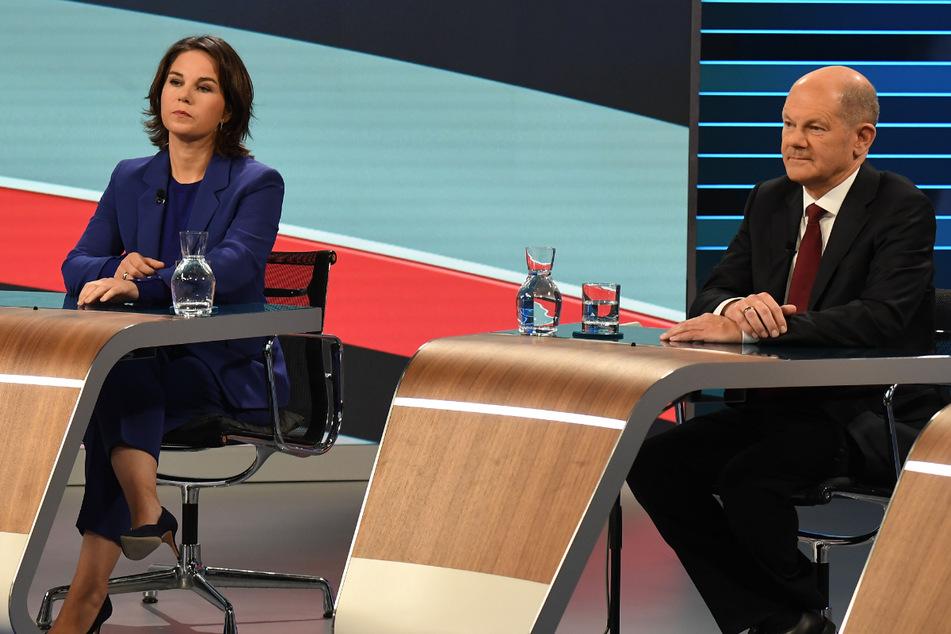 Sieger im Wahlkreis 61: Scholz schnappt Baerbock das Direktmandat weg