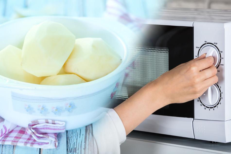 Kann man Kartoffeln in der Mikrowelle kochen?