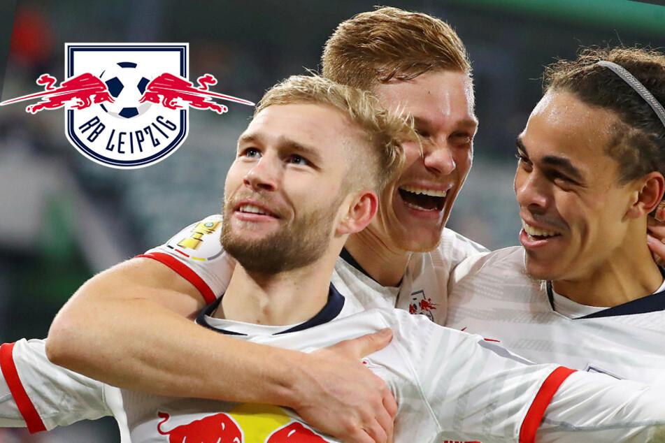 """RB Leipzigs leichter Gang nach Wolfsburg? """"Spielen nicht mega kompliziert"""""""