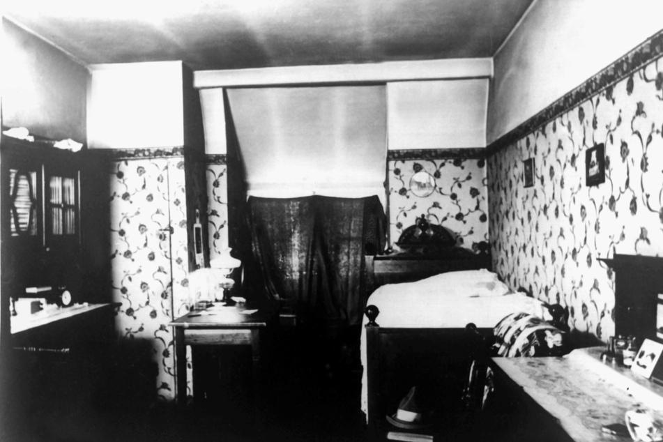 Blick in die damalige Wohnung des überführten Mörders.