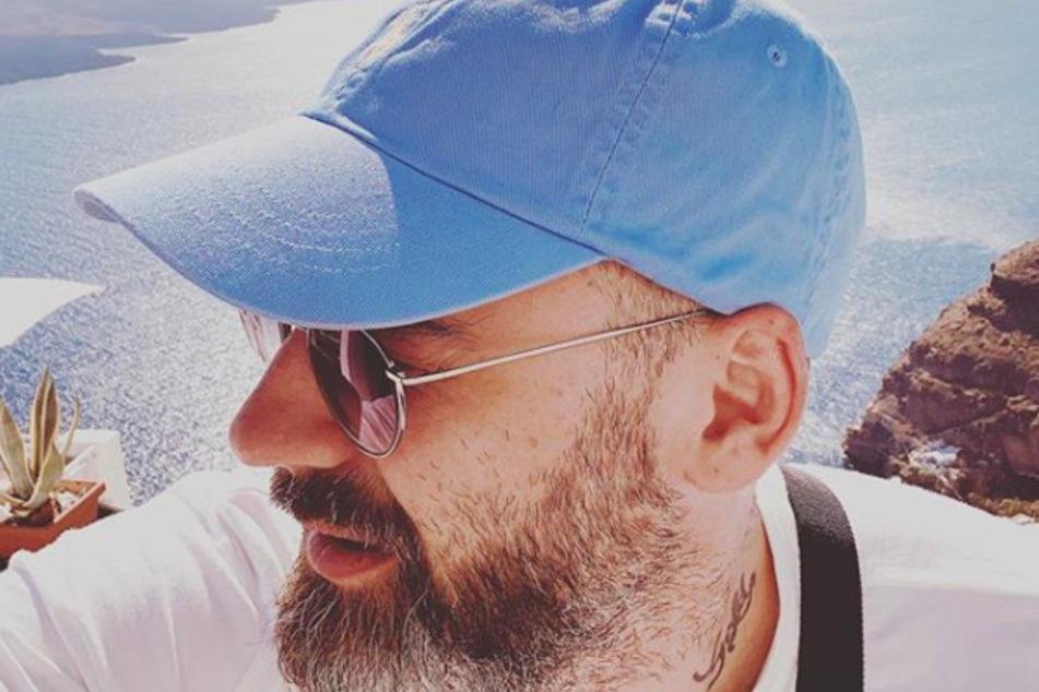 Auch Ex Sido (39) urlaubt derzeit in Griechenland.