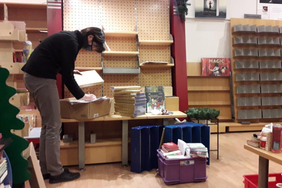 Das Team um Inhaberin Christiane Königsmann (48) verkaufte nicht nur Bücher, sondern leistete immer auch, direkt und indirekt, Sozialarbeit und Seelsorge.