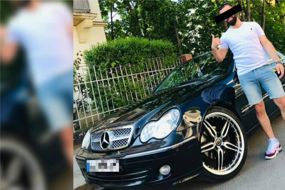 Der Syrer Mohammad F. (31) protzte gern mit seinem Mercedes.