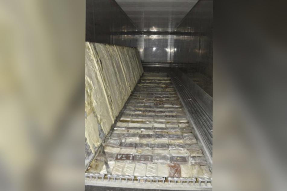 Auf den Frachtpapieren stand Reis, im Container war Kokain.