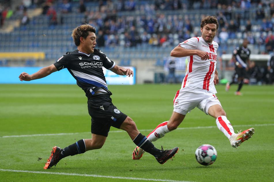 Für FC-Kapitän Jonas Hector war das Spiel nach 45 Minuten beendet.