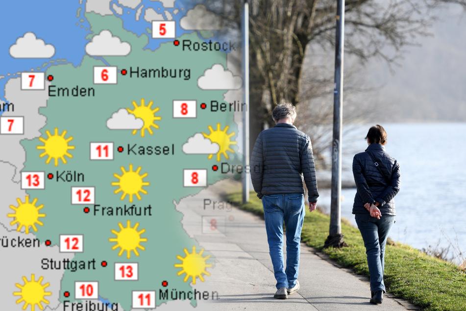 """Nach trübem Couch-Wetter: Hoch """"Jacqueline"""" bringt die Sonne zurück!"""