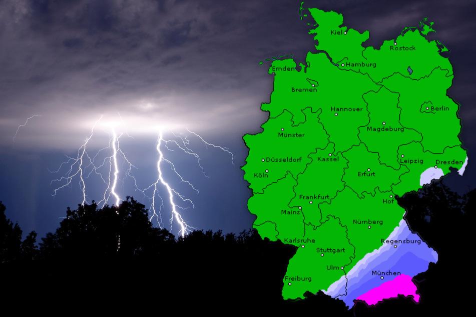 Dauerregen, Gewitter und Sonne: So geht das Sommerwetter weiter