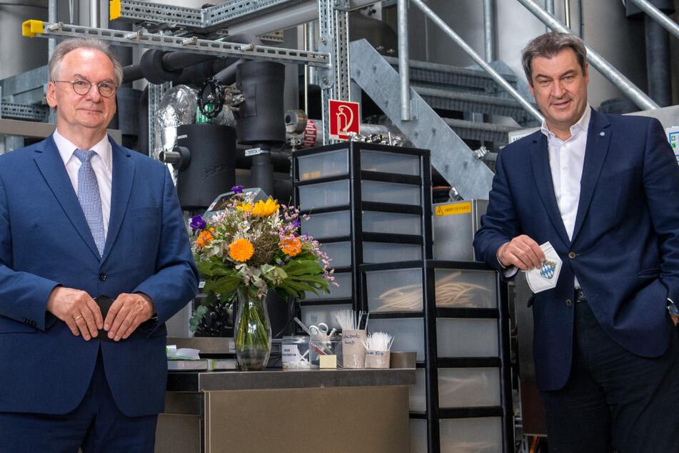 """Markus Söder zu Besuch in Mitteldeutschland: """"Die neuen Länder können echte Hightech-Regionen werden"""""""
