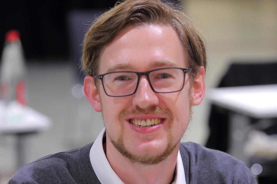 Stadtrat Stefan Engel (28, SPD).