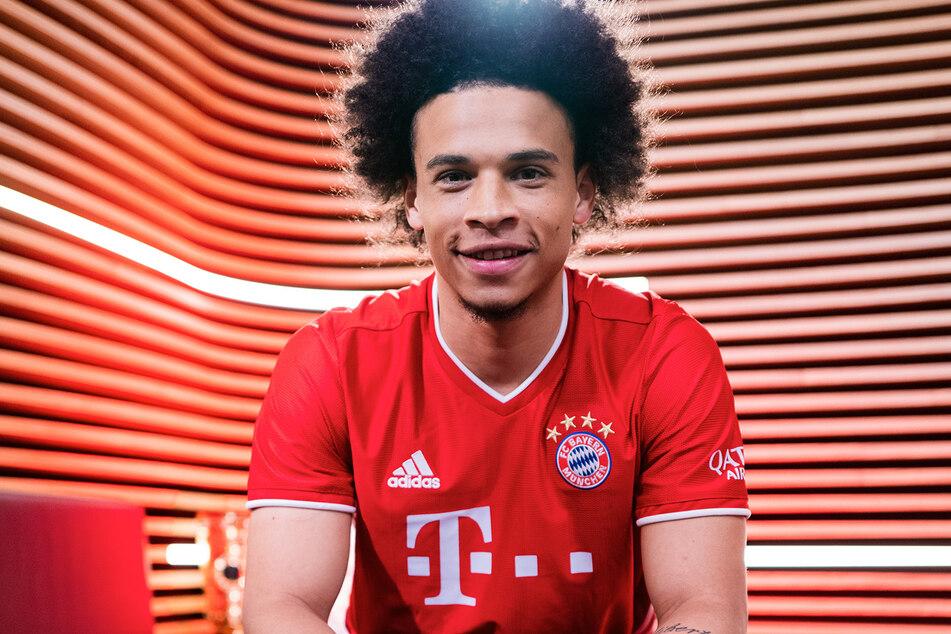 Leroy Sané (24) spielt ab sofort für den FC Bayern München.