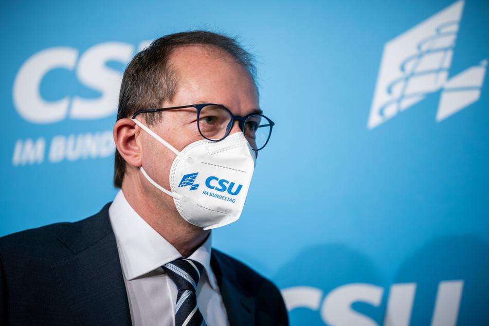Alexander Dobrindt, CSU-Landesgruppenchef.