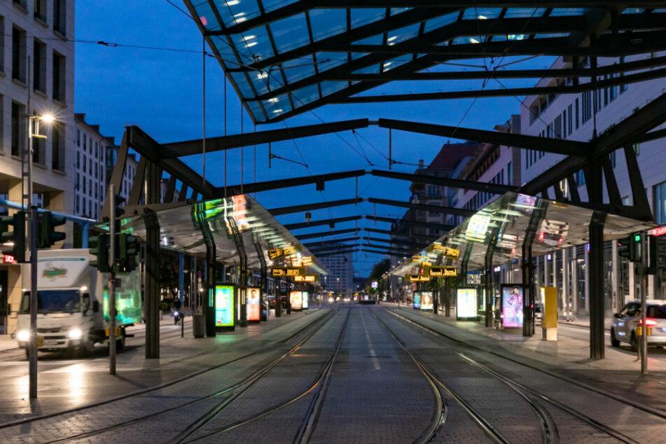 Busse und Bahnen bleiben stehen: Erneuter DVB-Warnstreik morgen in Dresden