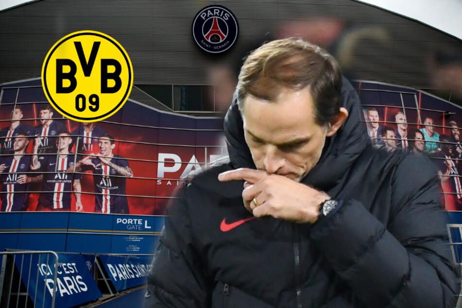 Geisterspiel gegen Paris: Entscheidet der BVB über das Schicksal von Thomas Tuchel?