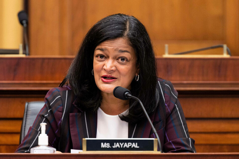 Congressional Progressive Caucus Chair Pramila Jayapal said the bipartisan bill would not advance without a reconciliation bill as well.