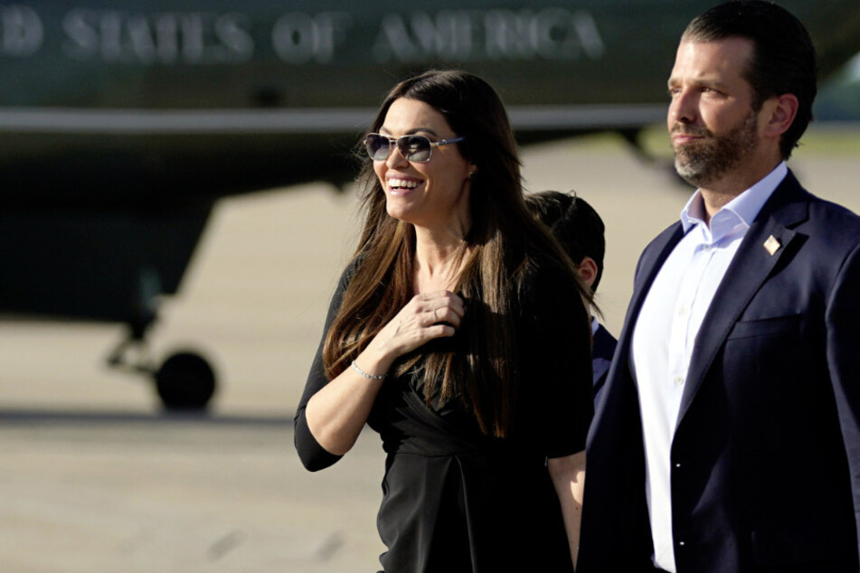 Kimberly Guilfoyle (51) und Donald Trump Jr. (42). (Archivbild)