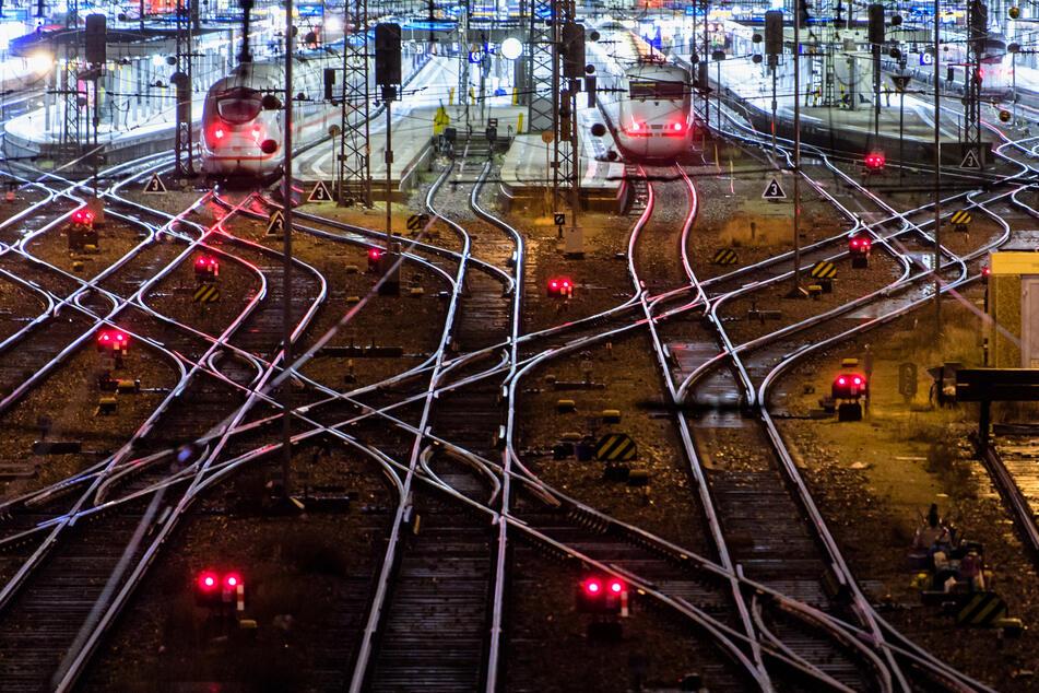 ICE-Züge stehen am Münchner Hauptbahnhof.