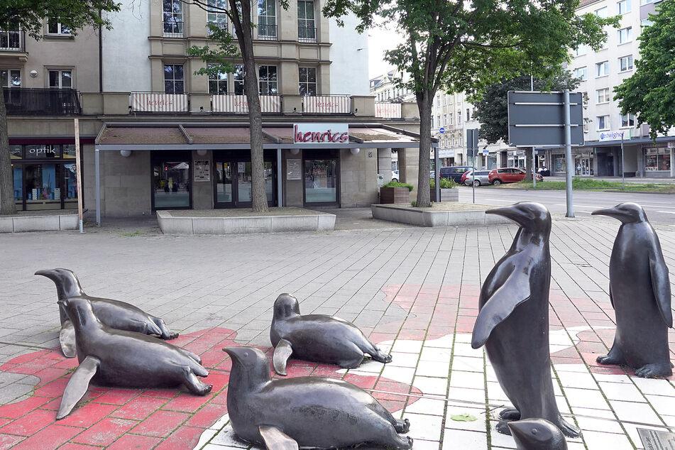 Das henrics in der Chemnitzer Innenstadt schließt.