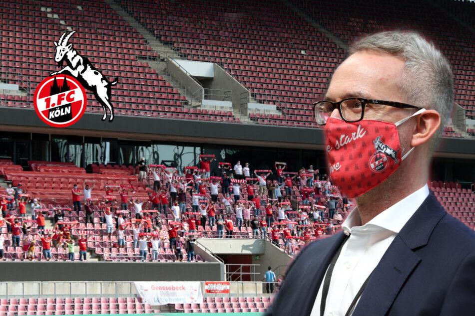 Klartext: So viel Umsatzverlust macht der 1. FC Köln wegen Corona