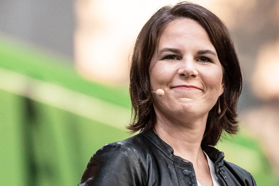Unter den Politikerinnen auf Platz 1: Fast die Hälfte der befragten Männer würde mit Annalena Baerbock (40, Die Grünen) ins Bett gehen.
