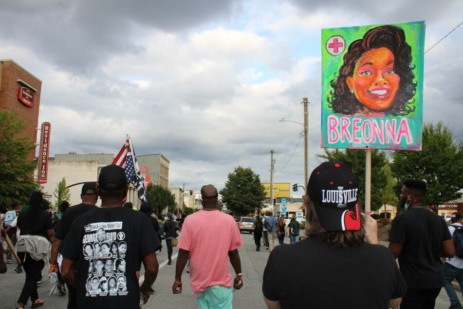 Thousands of people gathered in Louisville, and across the United States, to protest the police shooting of Breonna Taylor.