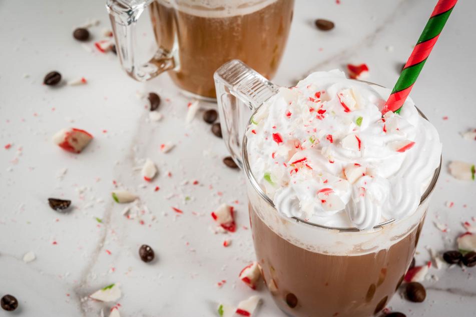 Heiße Schokolade mit Minze ist in Großbritannien an Weihnachten sehr beliebt.