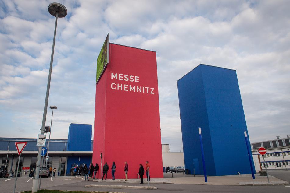 Die in der Chemnitzer Messe eingerichtete Ambulanz macht Ende Juni dicht!