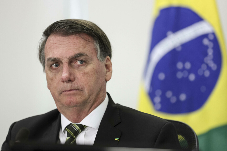 Brasilia: Jair Bolsonaro, president of Brazil, attends the inauguration of Minister Fux as the new president of the Brazilian supreme court (STF).