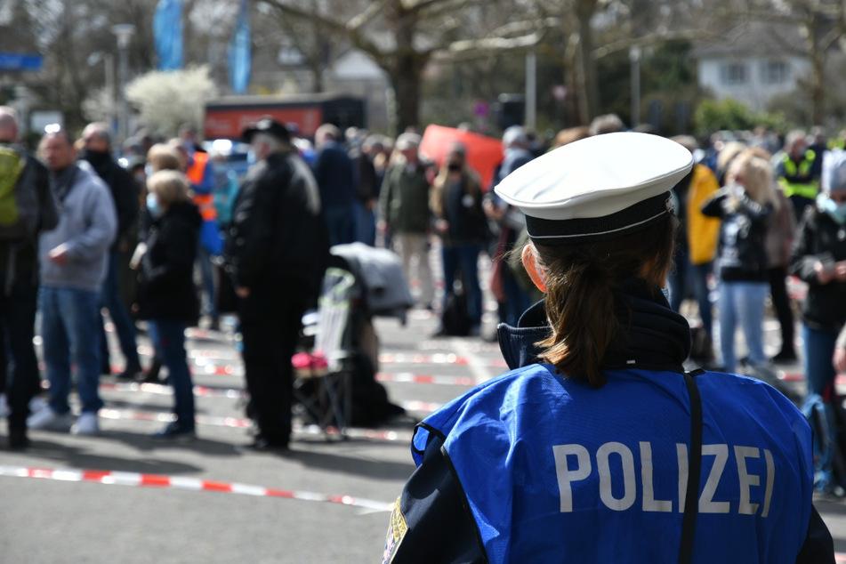 "So lief die ""Querdenker""-Demonstration in Darmstadt ab"