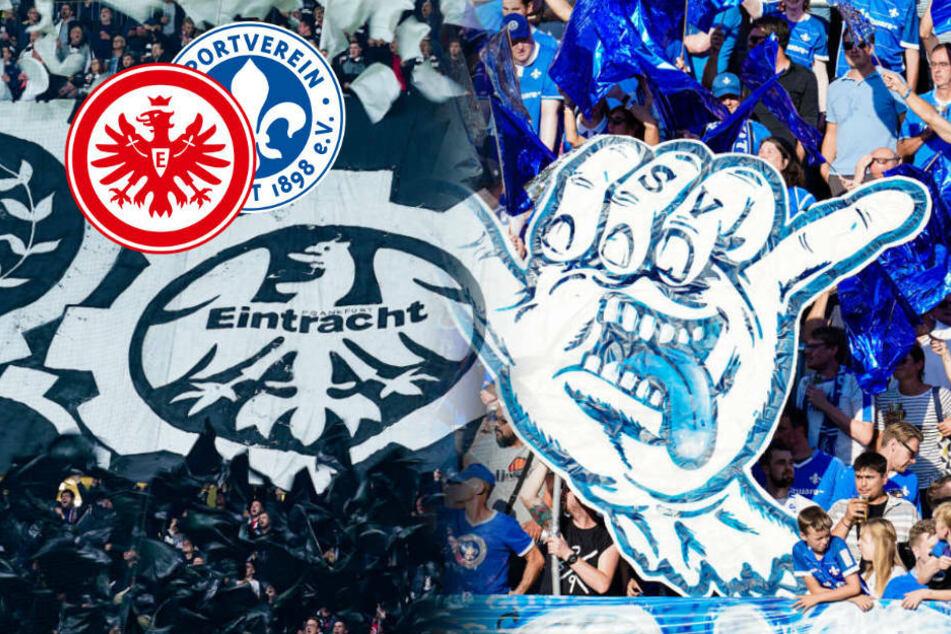 Razzia nach Massenschlägerei zwischen Eintracht- und Lilien-Fans